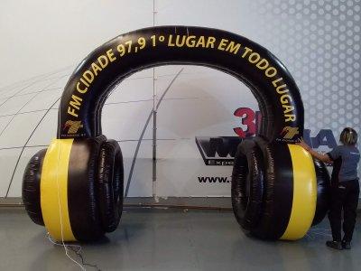 Portal Inflável em Guarulhos - SP