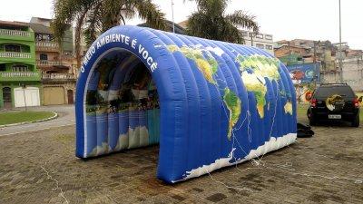 Túnel Inflável em Guarulhos - SP