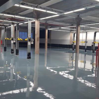 Impermeabilização de Pisos Industriais em Itu - SP