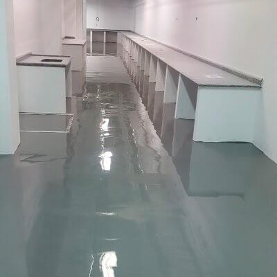 Piso Epóxi para Laboratórios em Itu - SP