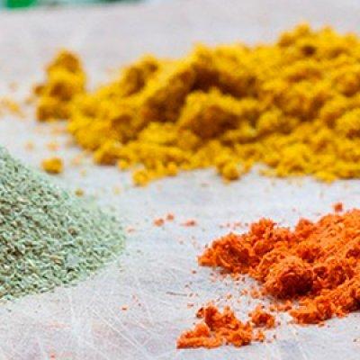 Distribuidor de pigmentos inorgânicos