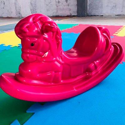 Gangorra cavalinho de plástico fábrica