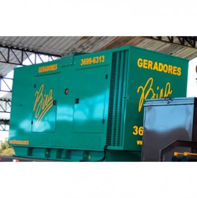 Aluguel de Gerador de Energia a Diesel