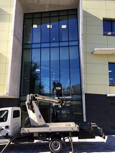 Limpeza de fachada para empresa em São Paulo - SP