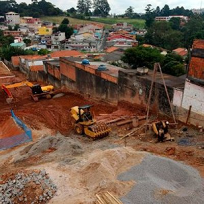 Estacas escavadas em São Paulo - SP