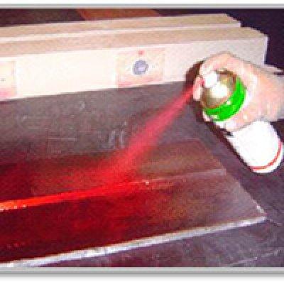 Ensaio por líquido penetrante em Arujá - SP