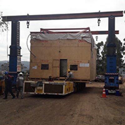 Homologação de movimentação de cargas em Arujá - SP