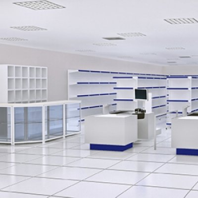 Estantes metálicas para armazenagem