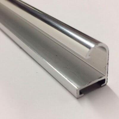 Moldura de Alumínio Prata Brilhante em Campinas - SP