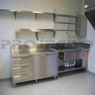 Cozinha Industrial de Aço Inox