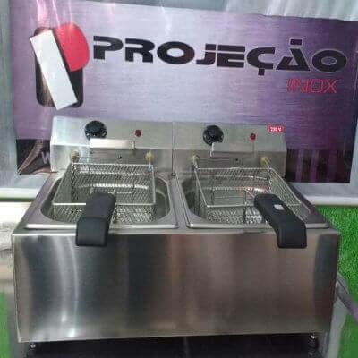 Fritadeira de Aço Inox