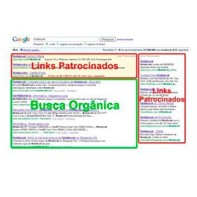 Busca Orgânica no Google