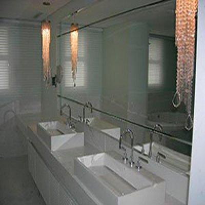 Bancada de mármore para banheiro em Barueri - SP
