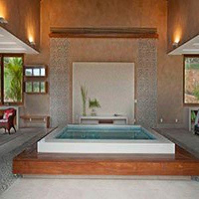 Instalação de mármore em sauna em Barueri - SP