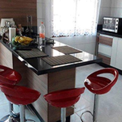 Pia de cozinha de granito em Barueri - SP