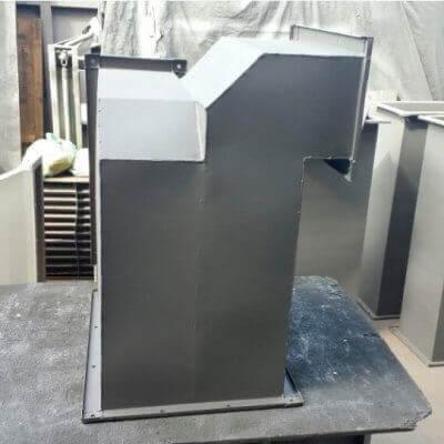 Duto de Pressurização para Escadas