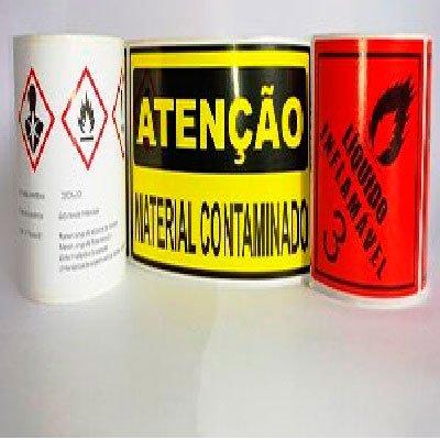 Etiqueta para Produtos Químicos em São Paulo - SP