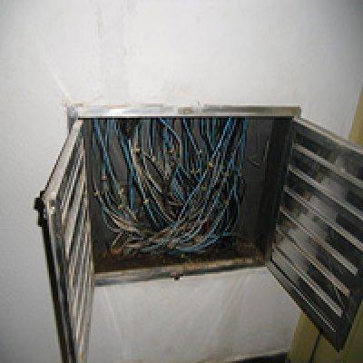 Substituição de fiação elétrica predial em São Paulo - SP