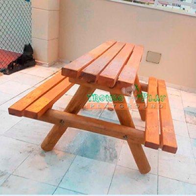 Fabricante de mesas de picnic em madeira
