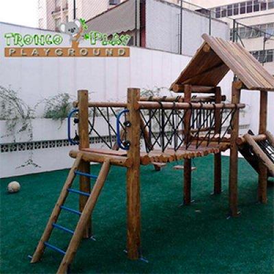 Playground rústico