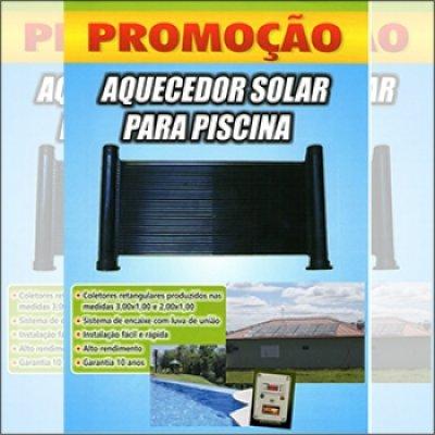 Aquecimento solar de piscinas em Atibaia - SP