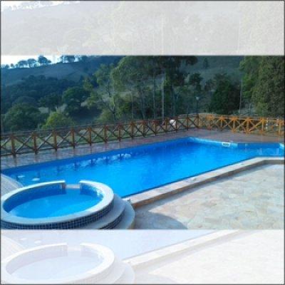Construção de piscina em Atibaia - SP