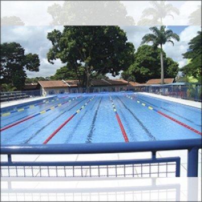 Construção de piscinas para academia em Atibaia - SP