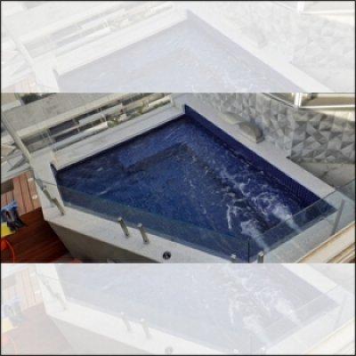 Construção de spa para coberturas em Atibaia - SP