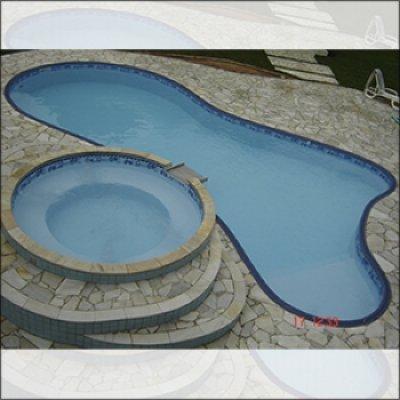Projeto de piscina personalizada em Atibaia - SP