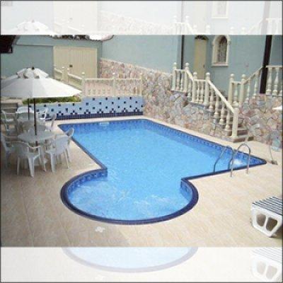 Projeto de piscina residencial em Atibaia - SP