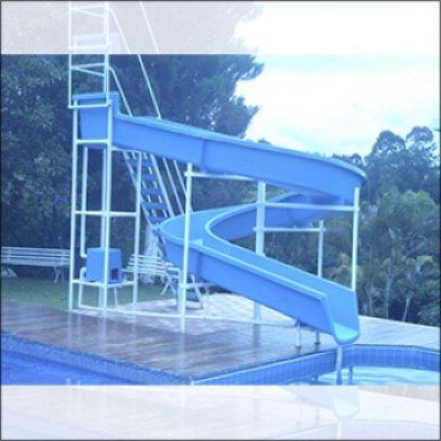 Toboáguas para piscinas em Atibaia - SP